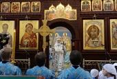 Предстоятель Русской Церкви освятил Успенский кафедральный собор г. Иваново
