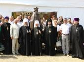 Глава Казахстанского митрополичьего округа открыл выставку «Византия.ru» в Севастополе