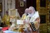 Божественная литургия в кафедральном соборном Храме Христа Спасителя г. Москвы в день 1000-летия преставления святого равноапостольного князя Владимира