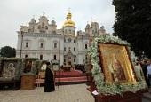 В день памяти равноапостольного князя Владимира Предстоятель Украинской Православной Церкви возглавил Литургию в Киево-Печерской лавре