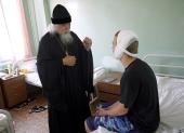 Председатель Синодального отдела по благотворительности посетил Свято-Владимирскую городскую детскую больницу в Москве