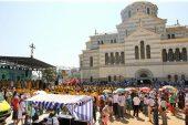 В Севастополе на месте крещения князя Владимира состоялись торжества, посвященные 1000-летию преставления Крестителя Руси