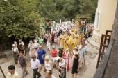 В единственном в Ташкентской епархии храме равноапостольного князя Владимира отметили престольный праздник