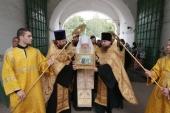 Ковчег с частицами мощей равноапостольных великого князя Владимира и великой княгини Ольги принесен в Московскую областную епархию