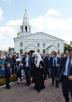 Патриарший визит в Нижегородскую митрополию. Посещение духовно-просветительского центра «Сергиевская слобода» в г. Бор