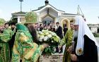 Святейший Патриарх Кирилл совершил всенощное бдение в Александро-Невском кафедральном соборе в Нижнем Новгороде