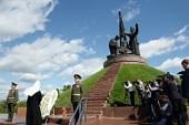 Святейший Патриарх Кирилл посетил мемориальный комплекс «Победа» в Чебоксарах