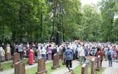Память известного пастыря протоиерея Валентина Амфитеатрова почтили в день его кончины