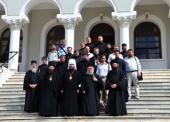 Делегация Русской Православной Церкви прибыла на Афон для участия в торжествах в честь великомученика и целителя Пантелеимона