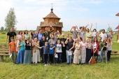 Состоялся слет православной молодежи Западного викариатства г. Москвы