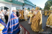 Годовщину интронизации Предстоятеля Украинской Православной Церкви молитвенно отпраздновали в Киево-Печерской лавре