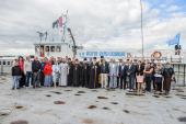 Корабль-церковь Новосибирской епархии «Святой апостол Андрей Первозванный» отправился в 19-й миссионерский рейс