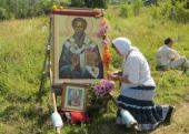 Владимирский крестный ход прибыл из Перми в Ленинградскую область