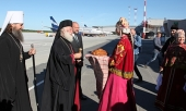 В Россию прибыл Предстоятель Александрийской Православной Церкви
