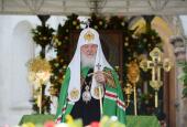 В день памяти преподобного Саввы Сторожевского Предстоятель Русской Церкви совершил Литургию в Саввино-Сторожевском ставропигиальном монастыре