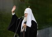 Слово Святейшего Патриарха Кирилла после освящения памятника святому равноапостольному князю Владимиру в Смоленске