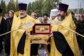 Ковчег с частицей мощей святого равноапостольного князя Владимира принесен в Пензу