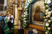 Патриаршее служение в праздник Донской иконы Божией Матери в Донском монастыре. Хиротония архимандрита Владимира (Новикова) во епископа Клинцовского и Трубчевского
