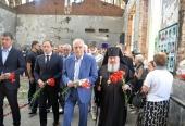 Архиепископ Владикавказский Зосима и духовенство Аланской епархии приняли участие в траурных мероприятиях в Беслане