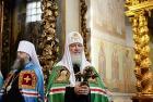 Слово Святейшего Патриарха Кирилла после Литургии в Донском ставропигиальном монастыре