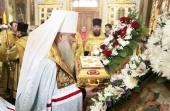 Ковчег с частицей мощей равноапостольного князя Владимира принесен в Саратов