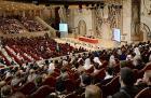 Святейший Патриарх Кирилл возглавил пленарное заседание V Общецерковного съезда по социальному служению
