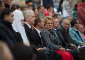 Святейший Патриарх Кирилл посетил торжественную церемонию открытия Дня города Москвы на Красной площади