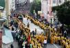 Крестный ход, посвященный 700-летию начала служения в Москве святителя Петра, первого митрополита Московского