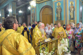 Верующие Волгоградской епархии поклонились мощам святого равноапостольного князя Владимира