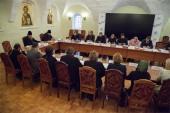 Состоялось заседание Межведомственной рабочей группы по изучению и выработке подходов к формированию учебных пособий для воскресных школ