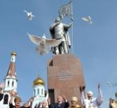В Чите освящен памятник святому великому князю Александру Невскому