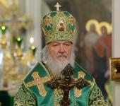 Слово Святейшего Патриарха Кирилла после Литургии в Даниловом ставропигиальном монастыре