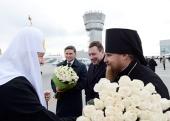 Предстоятель Русской Православной Церкви прибыл в Салехардскую епархию