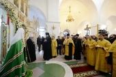 Святейший Патриарх Кирилл посетил Петропавловский кафедральный собор г. Салехарда