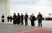 Патриарший визит в Салехардскую епархию. Посещение мемориального комплекса «Парк Победы» в Салехарде