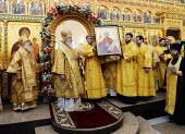 Слово Святейшего Патриарха Кирилла после Божественной литургии в Богоявленском соборе города Новый Уренгой