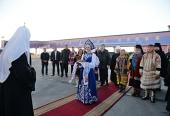 Святейший Патриарх Кирилл прибыл в Норильскую епархию