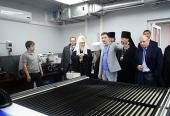Святейший Патриарх Кирилл посетил лабораторию «FabLab-Норильск»