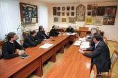 Состоялось заседание Богословско-канонической комиссии при Священном Синоде Украинской Православной Церкви
