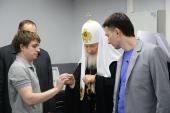 Патриарший визит в Норильскую епархию. Посещение лаборатории «FabLab-Норильск»