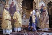 В Таллине прошли торжества по случаю 25-летия архиерейской хиротонии митрополита Таллинского и всея Эстонии Корнилия