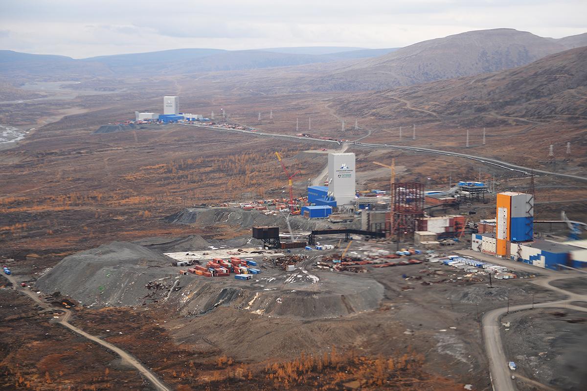 Патриарший визит в Норильскую епархию. Посещение шахты «Скалистая» Заполярного филиала компании «Норильский никель»