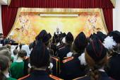 Патриарший визит в Салехардскую епархию. Посещение Новоуренгойской православной гимназии