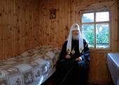 Патриарший визит в Горноалтайскую епархию. Посещение Архиерейского подворья в честь святителя Макария (Невского) на реке Катунь