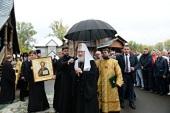 Предстоятель Русской Православной Церкви посетил Макариевский кафедральный храм г. Горно-Алтайска