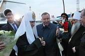 Святейший Патриарх Кирилл прибыл в Барнаул