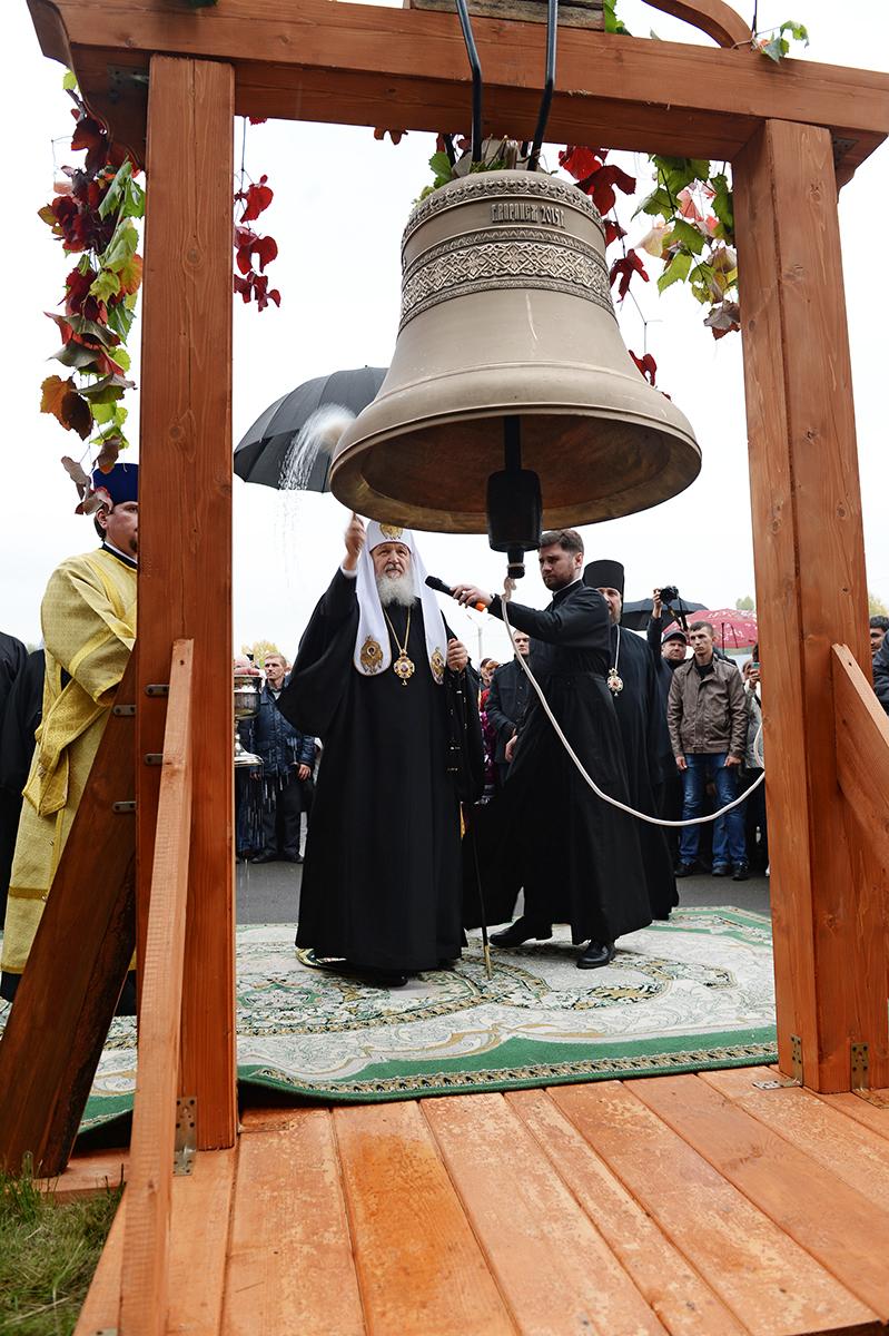 Патриарший визит в Горноалтайскую епархию. Посещение Макариевского кафедрального храма г. Горно-Алтайска