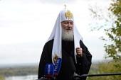 Интервью Святейшего Патриарха Кирилла по итогам Первосвятительского визита в епархии Крайнего Севера и Западной Сибири