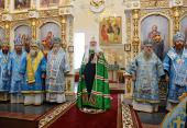 Слово Святейшего Патриарха Кирилла после Литургии в храме святителя Димитрия Ростовского в Барнауле