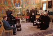 Делегация Московских духовных школ посетила Грузию